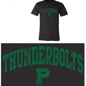 black tshirt thunderbolts
